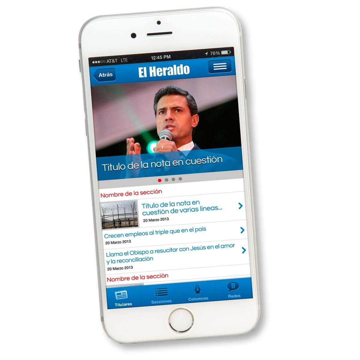 El Heraldo app photo